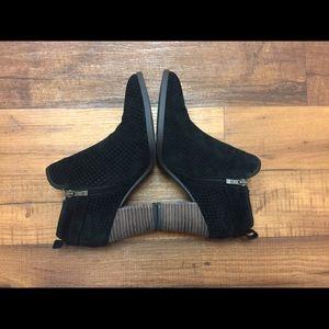 Franco Sarto Shoes - Franco Sarto Suede Ankle Boots Women Size 8.